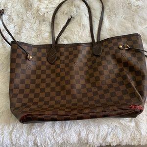 Authentic Lv never full shoulder bag